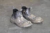 Спец. обувь загрязненная