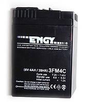 Аккумулятор  свинцово кислотный ENGY 6V4Ah