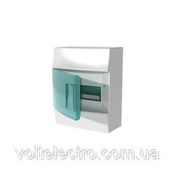 Распределительны щиток наружный с прозрачной дверцей 8 мод. ABB Mistral41 1SPE007717F0320