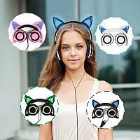 Стильные наушники с кошачьими ушками! Отличный звук, доступная цена! + Спиннер за пол цены!