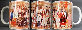 Групповые фото на чашки: садик, школа, институт, коллективные по работе...