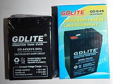 Аккумулятор свинцовый GDLITE GD-645 6v4ah