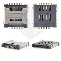 Коннектор SIM-карты для мобильных телефонов China-phone universal; Lenovo S660, на две SIM-карты, тип 1