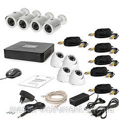 Комплект видеонаблюдения Tecsar 8OUT-MIX