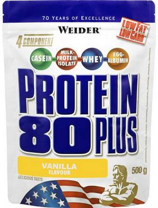Protein 80 Plus Weider 500g, фото 2
