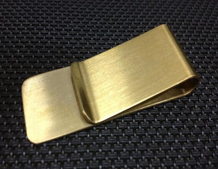 Зажим для денег Gold Sateen
