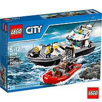 Лего City Поліцейський патрульний човен 60129