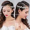 Диадема свадебная тиара СИРИ для волос , подвеска индийская, фото 4