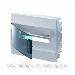 Mistral IP41  ABB на 12 модулей щиток внутренний с прозрачной дверцей