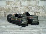 Мокасины топсайдеры Sebago Docksides кожаные black (Реплика ААА+), фото 5