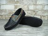 Мокасины топсайдеры Sebago Docksides кожаные black (Реплика ААА+), фото 8