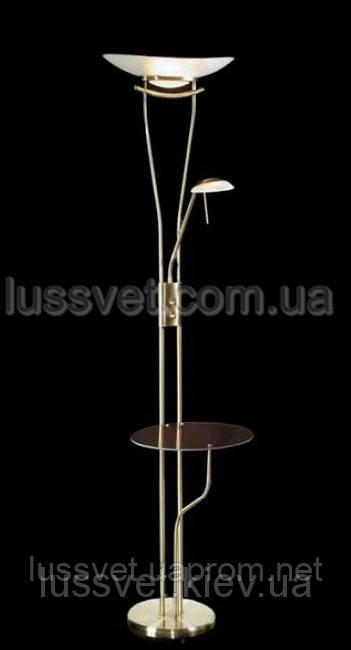 Торшер с полочкой и лампой для чтения LAGUNA  LYUBART  91445-02