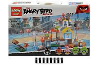 Конструктор Angry Birds Lepin 19004 Разгром Свинограда, 425 дет