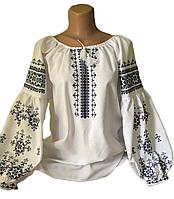 "Жіноча вишита сорочка (блузка) ""Карлесон"" (Женская вышитая рубашка (блузка) ""Карлесон"") BT-0070"