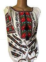 "Жіноча вишита сорочка (блузка) ""Кейрол"" (Женская вышитая рубашка (блузка) ""Кейрол"") BT-0071"