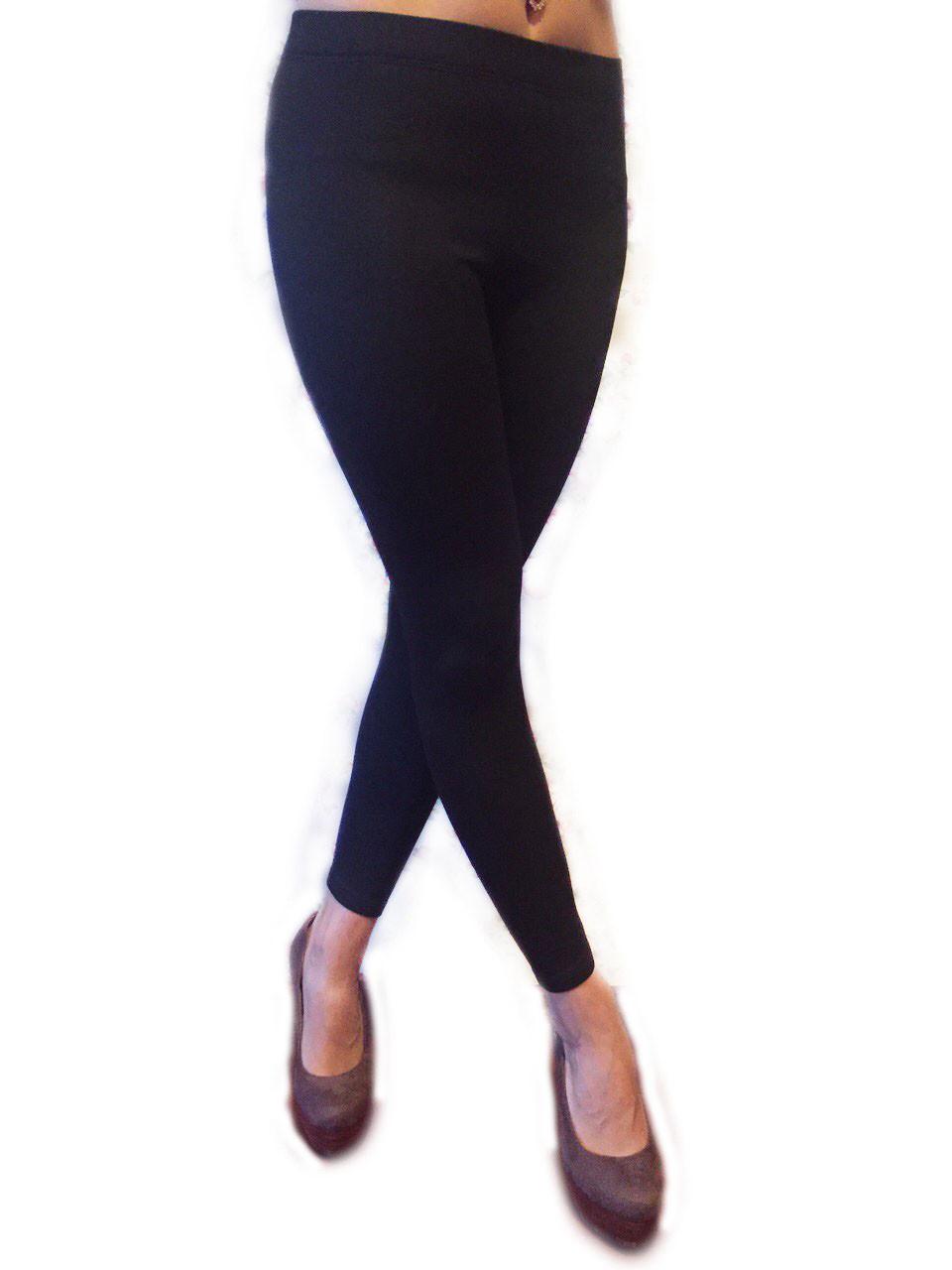 Женские легинсы черные