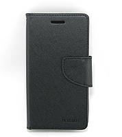 Чехол книжка для Samsung G350E Galaxy Star Advance Duos боковой с отсеком для визиток, Mercury GOOSPERY,Черный