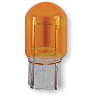 Лампа накаливания 12V W3 x 16d 21W оранжевая, 1 шт.