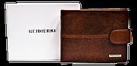 Мужской кошелек BEIDIERKE коричневый большой из натуральной кожи QAQ-000944