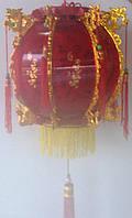 Китайский фонарь электрический, Фен шуй,  30х30 см