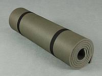 Коврик для йоги, фитнеса и гимнастики - Фитнес 10, размер 60 х 160 см, толщина 10 мм.