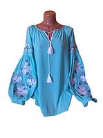 "Вишита жіноча блузка ""Ноелін"" (Вышитая женская блузка ""Ноелин"") BT-0074"