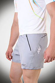 Мужские шорты F50 светло-серые  (р. S - XXL) арт. 19-11FS