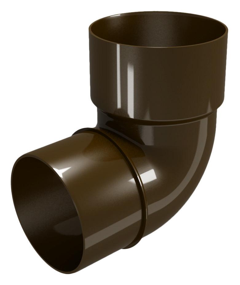 Колено трубы водосточной 82 гр. Водосточная система Devorex