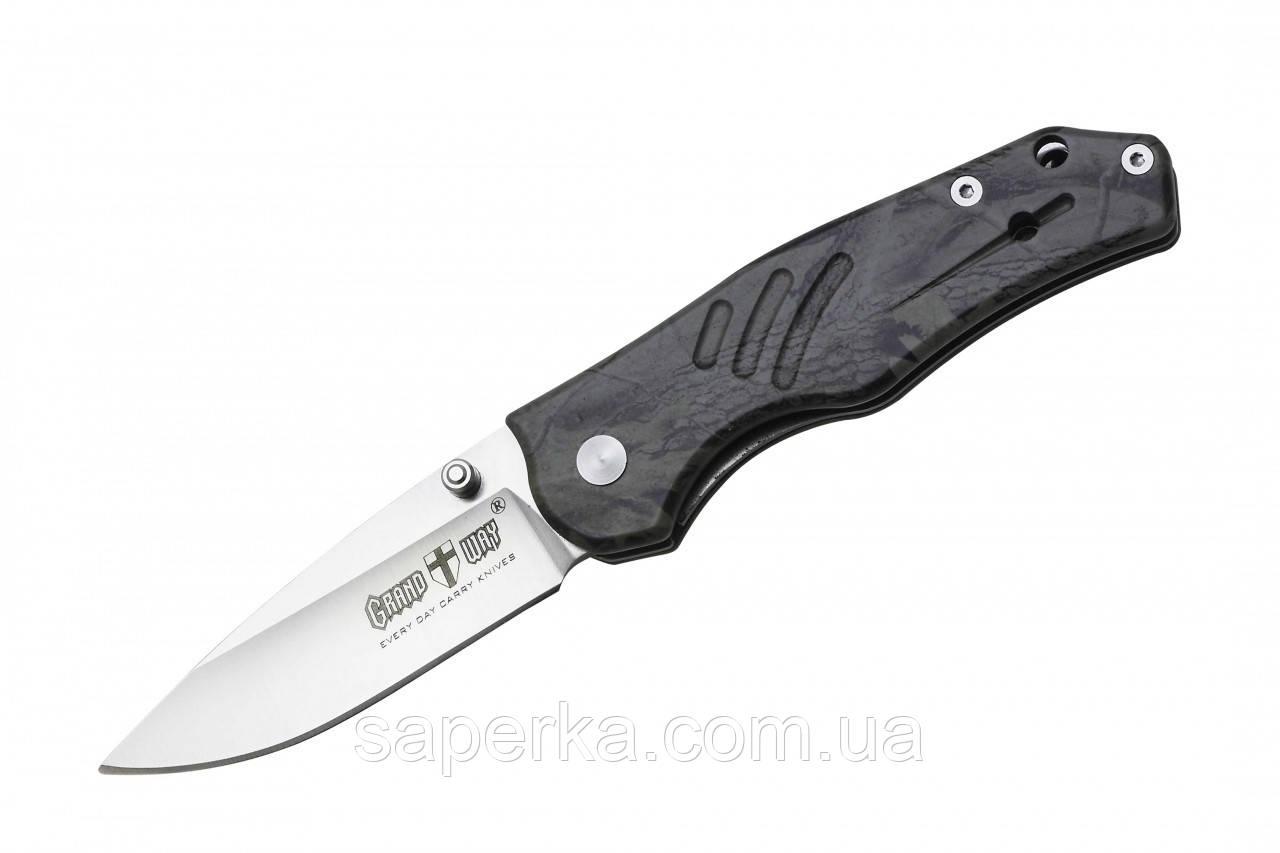 Нож складной для ежедневного ношения Grand Way E-06