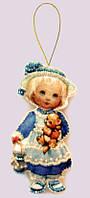 Набор для шитья куклы из фетра Кукла. Англия