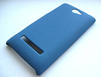 Пластиковый чехол HTC A620e 8S (синий)