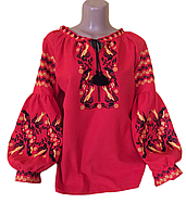 """Жіноча вишита блузка """"Ноббі"""" (Женская вышитая блузка """"Нобби"""") BT-0076"""