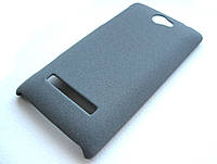 Пластиковый чехол HTC A620e 8S (серый)