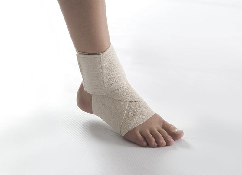 Какая повязка применяется при повреждений голеностопного сустава протезы тазобедренного сустава цены в россии