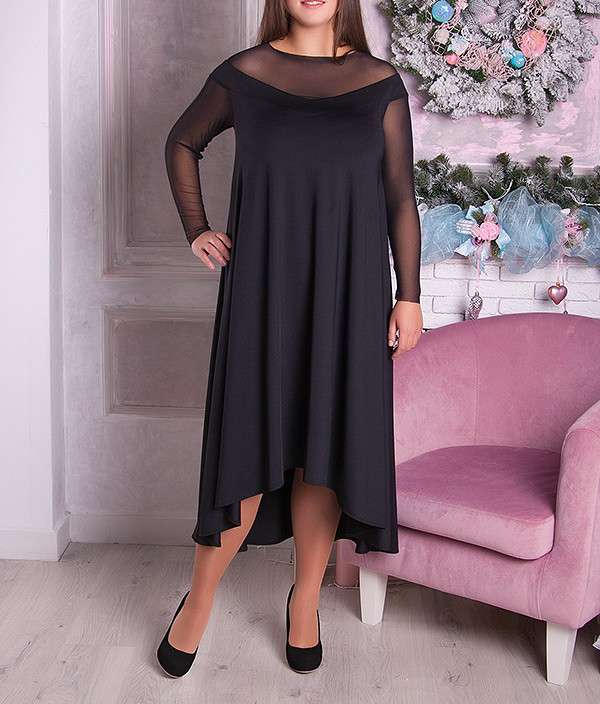 """Вечернее платье """"Альюте"""" для полных женщин, разные цвета!"""