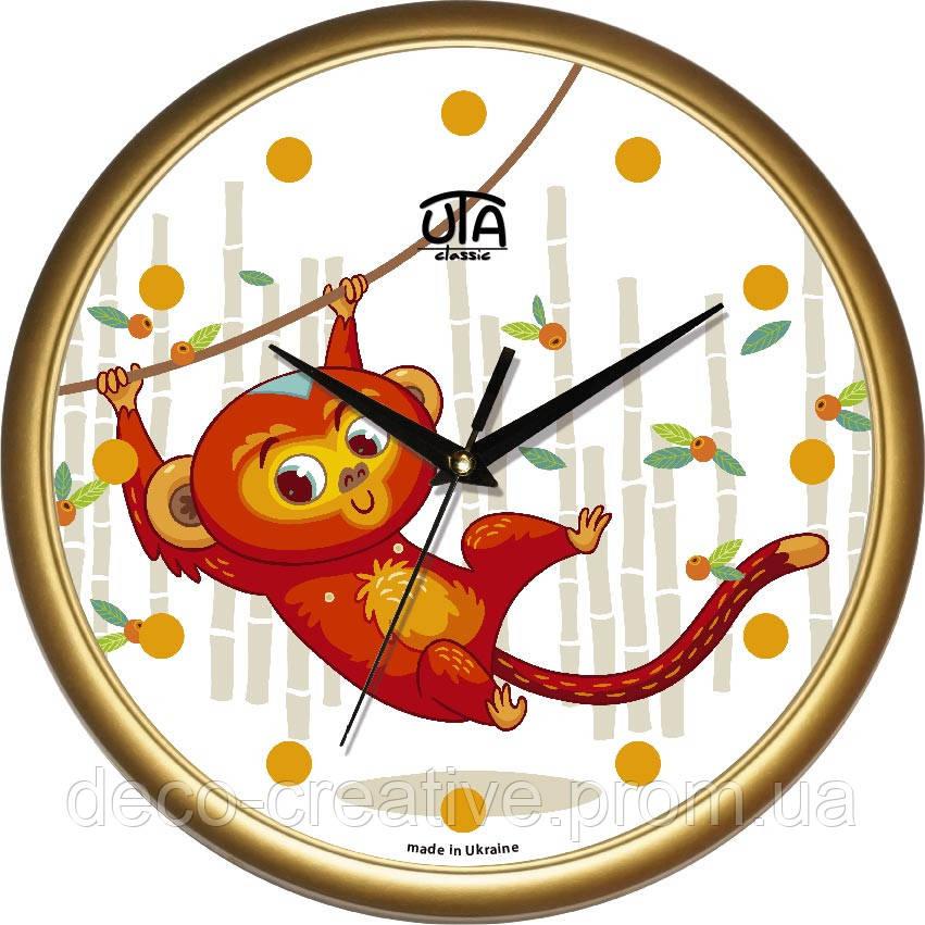"""Годинник настінний ЮТА """"Классика"""" 300Х300Х45мм            01 G 62"""