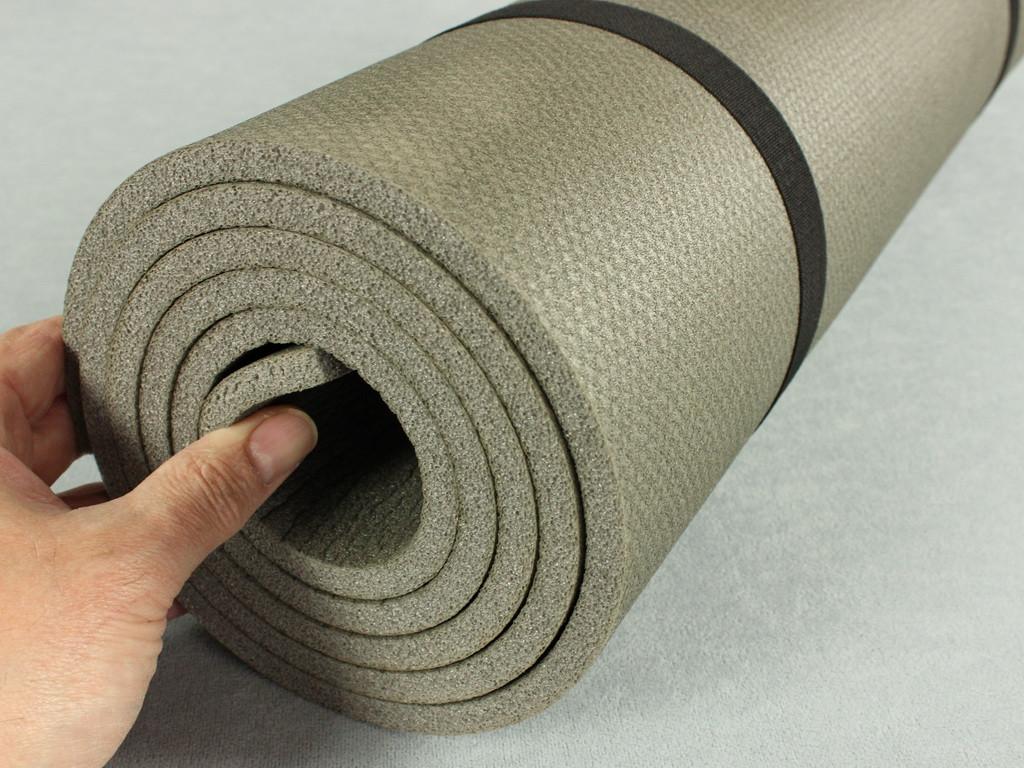 Коврик для йоги, фитнеса и гимнастики - Фитнес 10, размер 50 х 180 см, толщина 10 мм.