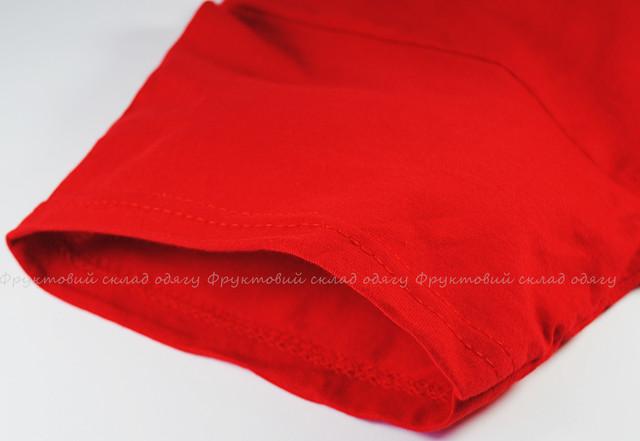 Красная мужская лёгкая футболка