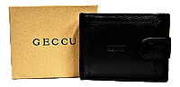 Мужской кошелек GECCU черного цвета QAQ-561223, фото 1
