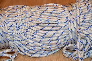 Веревка, шнур плетеный полиамидный.
