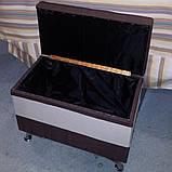Изготовление прямоугольного пуфика, фото 2