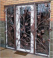 Решетки на двери и окна кованые