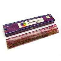 Ароматические палочки для медитации пыльцевые Satya Meditation