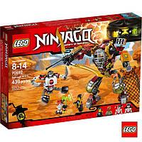 Лего Ninjago Робот M.E.C. із металобрухту 70592