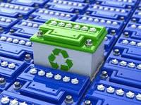 Отработанные батареи свинцовых акумуляторов