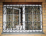 Решетки оконные кованые