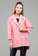 Модное шерстяное демисезонное пальто oversize