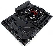 Охладитель цепей питания CPU на плате ASUS MAXIMUS IX Formula разработан EKWB