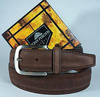 Кожаный ремень Tony Perotti 165 (Италия) - коричневый