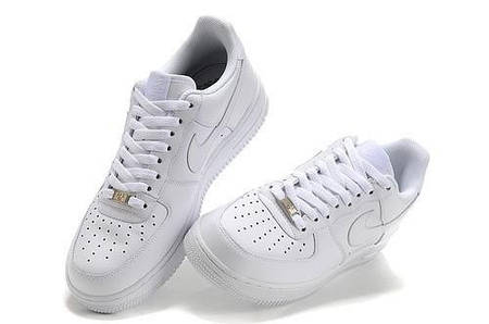 bb0a593e кроссовки Nike Air Force One Low White белые женские купить цена в